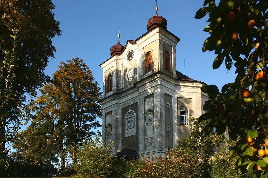 Bezděkov nad Metují - kostel