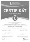 Certifikát A.T.I.C.