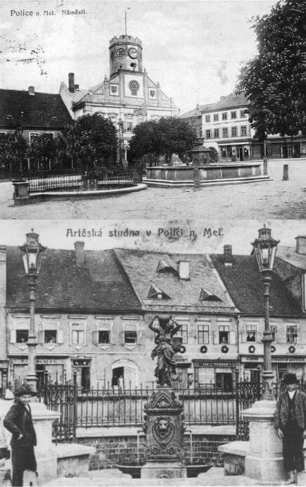 Polické náměstí / Police nad Metují